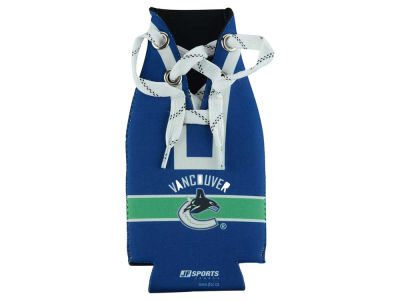 Vancouver Canucks Hockey Lace Bottle Cooler