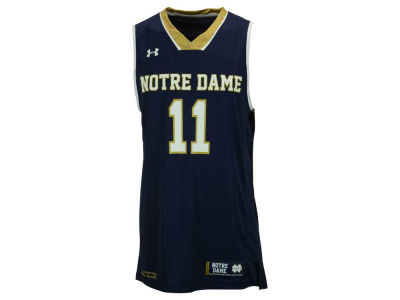 Notre Dame Fighting Irish #11 Under Armour NCAA Mens Replica Basketball Jersey