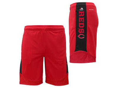 Cincinnati Reds MLB Youth Defiant Performance Short