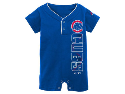 Chicago Cubs MLB Newborn Romper 2016