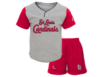 St. Louis Cardinals MLB Toddler Batting Practice Short Set