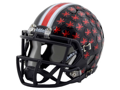 Ohio State Buckeyes Dark Night Speed Mini Helmet