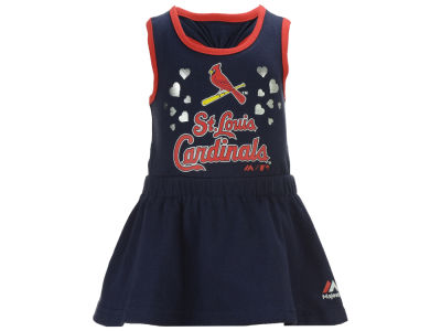 St. Louis Cardinals Majestic MLB Infant Criss Cross Tank Dress