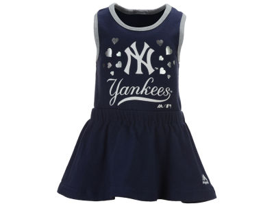 New York Yankees MLB Infant Criss Cross Tank Dress