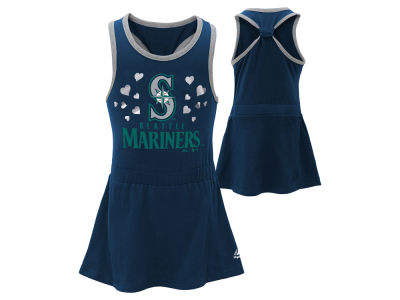 Seattle Mariners MLB Infant Criss Cross Tank Dress