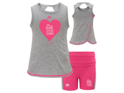 St. Louis Cardinals MLB Toddler Girls Short Set