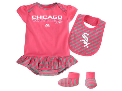 Chicago White Sox MLB Newborn Girls Bib & Booty Set