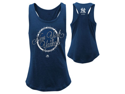 New York Yankees MLB Youth Girls Shine Bright Tank