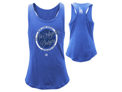 Los Angeles Dodgers MLB Youth Girls Shine Bright Tank