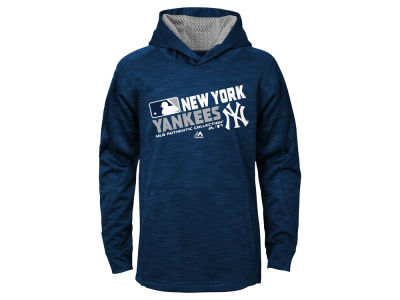 New York Yankees Majestic MLB Youth AC Team Choice On Field Hoodie
