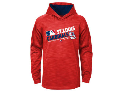 St. Louis Cardinals Majestic MLB Youth AC Team Choice On Field Hoodie