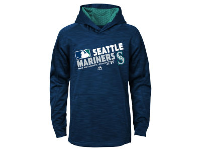 Seattle Mariners MLB Youth AC Team Choice On Field Hoodie