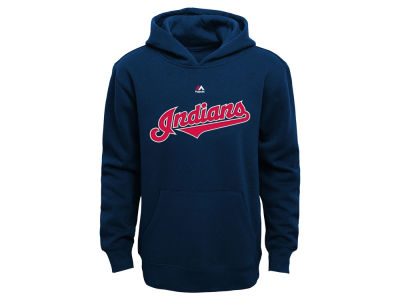Cleveland Indians MLB Youth Wordmark Fleece Hoodie