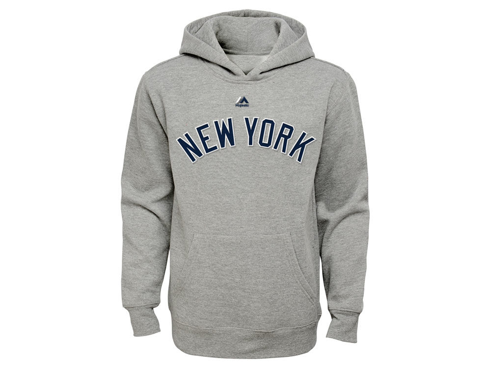 New York Yankees Majestic MLB Youth City Twill Hoodie  9cdd4dad9d0