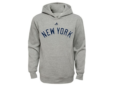 New York Yankees Majestic MLB Youth City Twill Hoodie