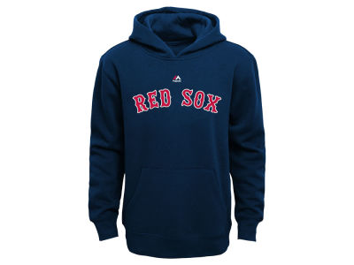 Boston Red Sox MLB Kids Wordmark Fleece Hoodie