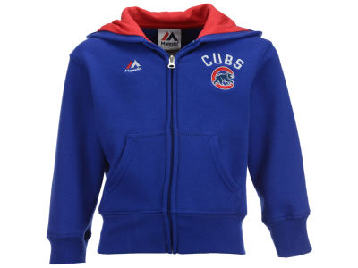 Chicago Cubs MLB Toddler Basic Play Full Zip Hoodie
