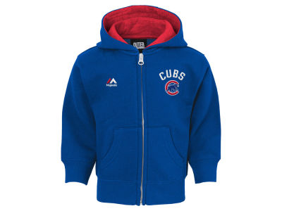 Chicago Cubs MLB Infant Basic Play Full Zip Hoodie