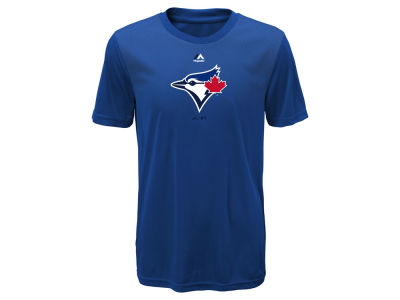 Toronto Blue Jays Majestic MLB Youth Geo Strike CB T-Shirt