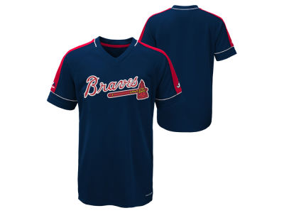 Atlanta Braves Majestic MLB Youth Lead Hitter T-Shirt