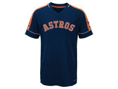 Houston Astros Majestic MLB Youth Lead Hitter T-Shirt