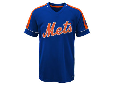 New York Mets Majestic MLB Youth Lead Hitter T-Shirt