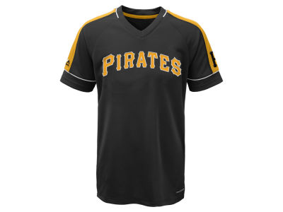 Pittsburgh Pirates Majestic MLB Youth Lead Hitter T-Shirt