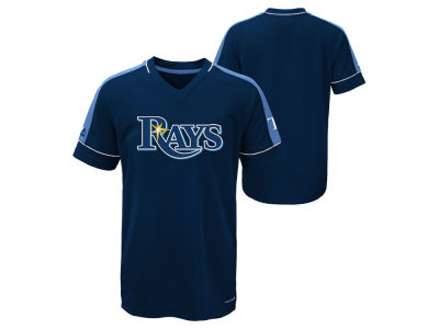 Tampa Bay Rays Majestic MLB Youth Lead Hitter T-Shirt