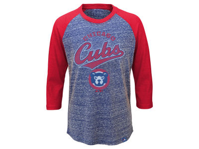 Chicago Cubs MLB Youth Coop Raglan T-Shirt