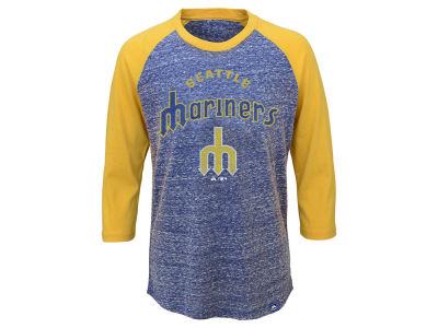 Seattle Mariners MLB Youth Coop Raglan T-Shirt