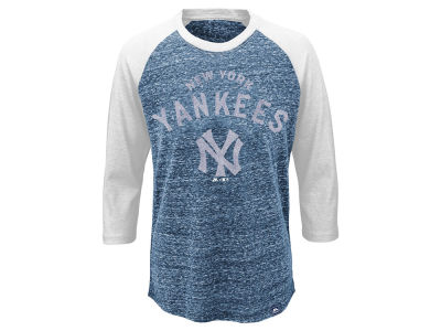 New York Yankees MLB Youth Coop Raglan T-Shirt