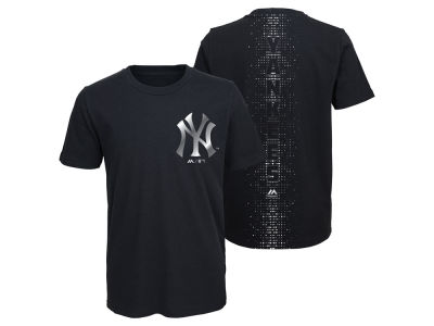 New York Yankees Majestic MLB Youth Stadium Lights T-Shirt