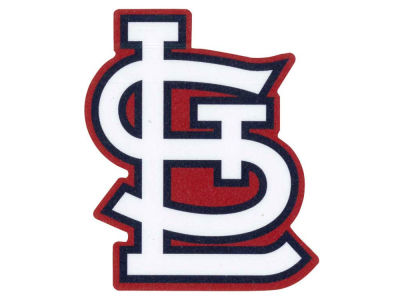 St. Louis Cardinals 4x4 Die Cut Decal Color