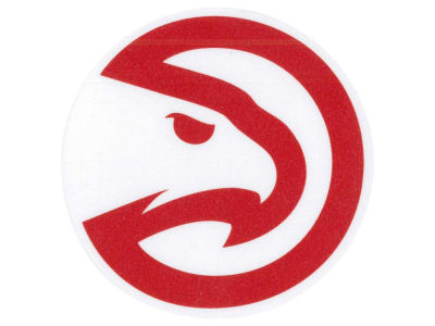 Atlanta Hawks 4x4 Die Cut Decal Color