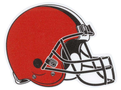 Cleveland Browns #12  4x4 Die Cut Decal Color