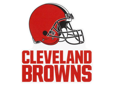 Cleveland Browns Die Cut Color Decal 8in X 8in