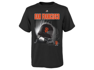 San Francisco Giants MLB Youth Kinetic Helmet T-Shirt