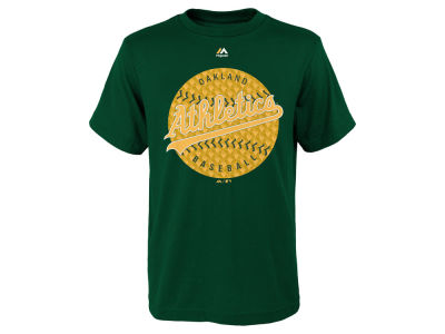 Oakland Athletics MLB Youth Electric Ball T-Shirt
