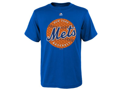 New York Mets MLB Youth Electric Ball T-Shirt
