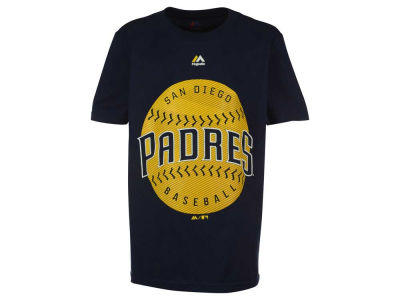 San Diego Padres MLB Youth Electric Ball T-Shirt
