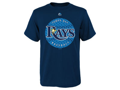 Tampa Bay Rays MLB Youth Electric Ball T-Shirt