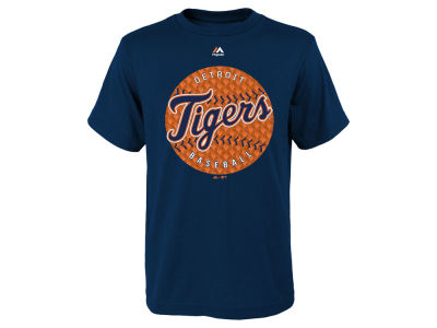 Detroit Tigers MLB Youth Electric Ball T-Shirt