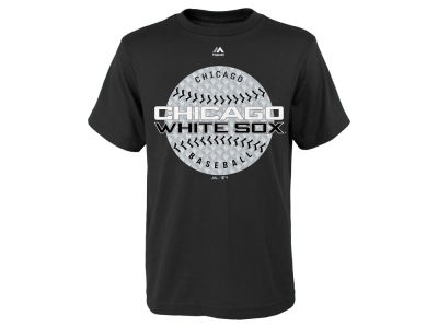 Chicago White Sox Majestic MLB Youth Electric Ball T-Shirt