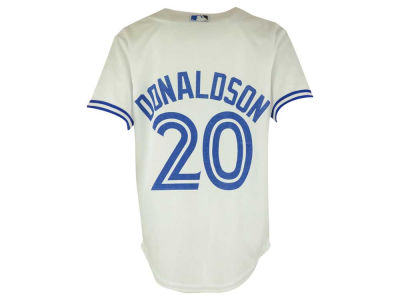 Toronto Blue Jays Josh Donaldson MLB Youth Cool Base Replica Printed Player Jersey