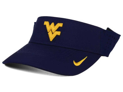 West Virginia Mountaineers Nike NCAA Dri-FIT Vapor Visor
