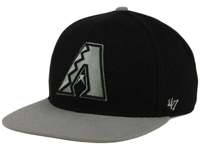Arizona Diamondbacks '47 MLB No Shot Two Tone '47 CAPTAIN Cap