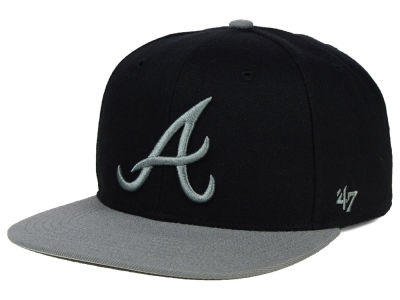 Atlanta Braves '47 MLB No Shot Two Tone '47 CAPTAIN Cap