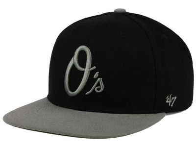 Baltimore Orioles '47 MLB No Shot Two Tone '47 CAPTAIN Cap