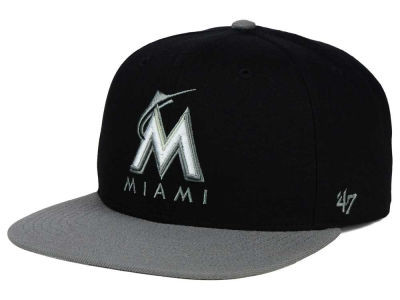 Miami Marlins '47 MLB No Shot Two Tone '47 CAPTAIN Cap