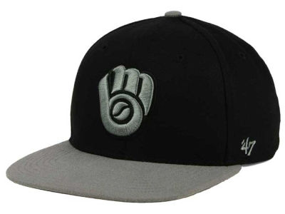 Milwaukee Brewers '47 MLB No Shot Two Tone '47 CAPTAIN Cap